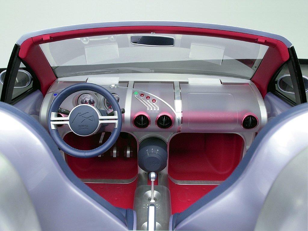 Vehicles Wallpaper: Ford Ka - Cockpit