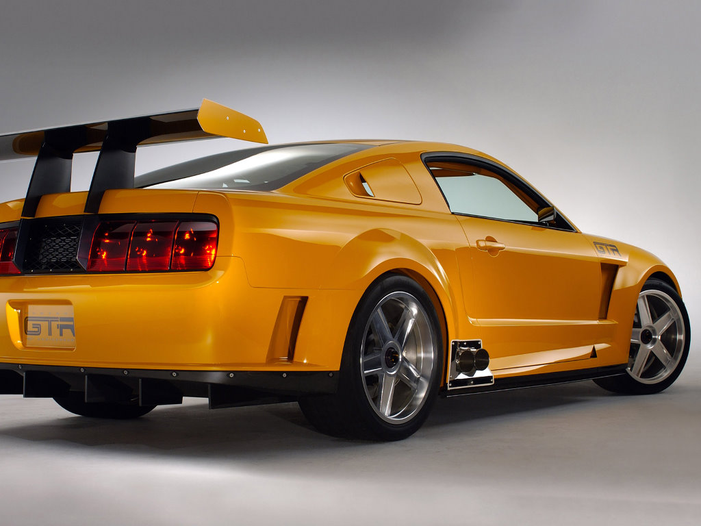 Vehicles Wallpaper: Ford Mustang GT-R Racing Coupe Concept