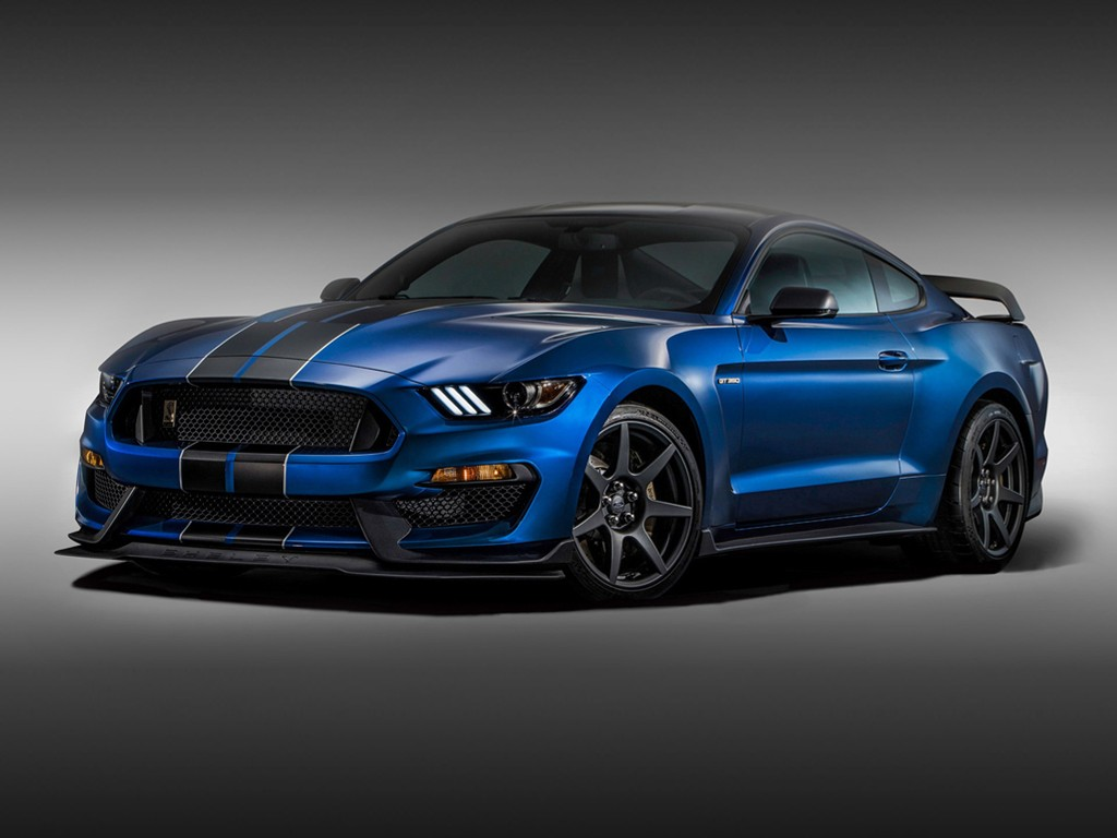 Vehicles Wallpaper: Ford Mustang Shelby GT350