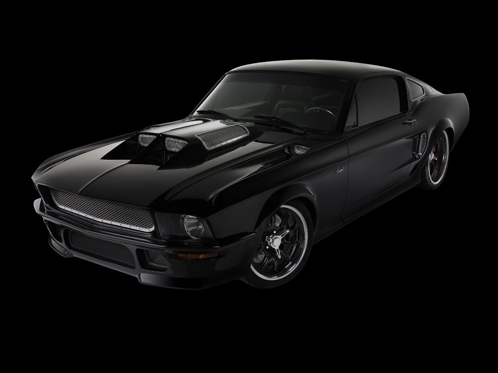 Vehicles Wallpaper: Ford Obsidian SG-One Mustang