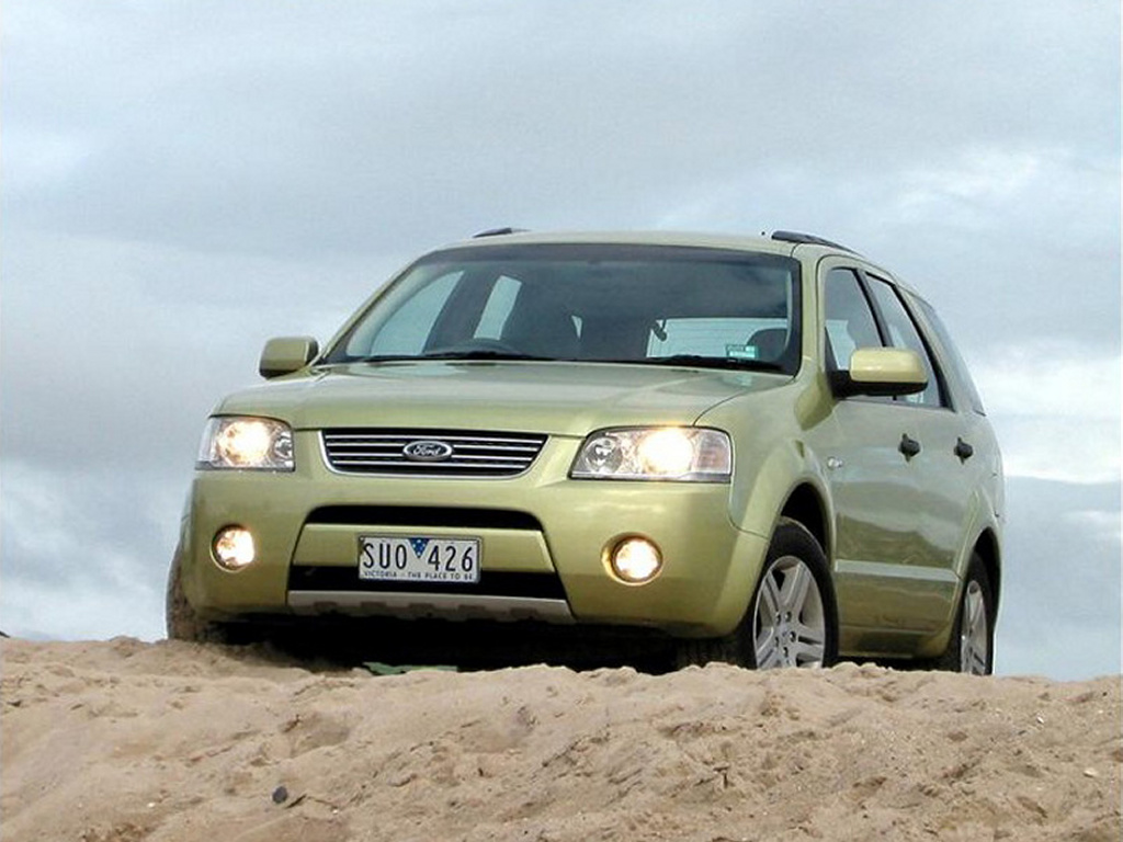 Vehicles Wallpaper: Ford Territory