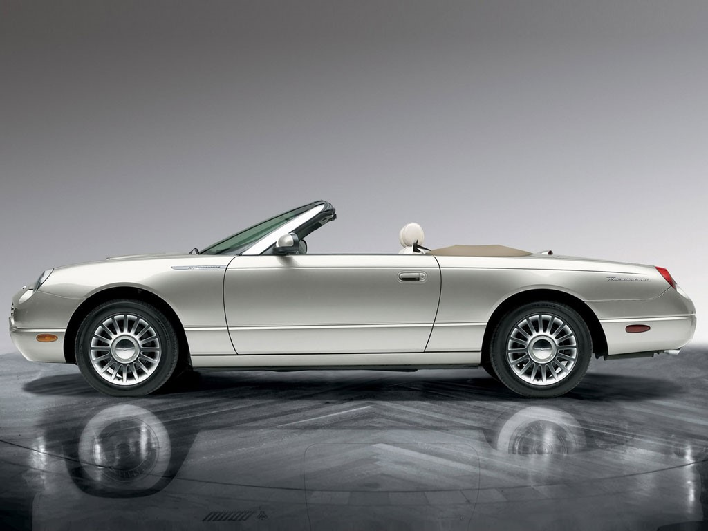Vehicles Wallpaper: Ford Thunderbird