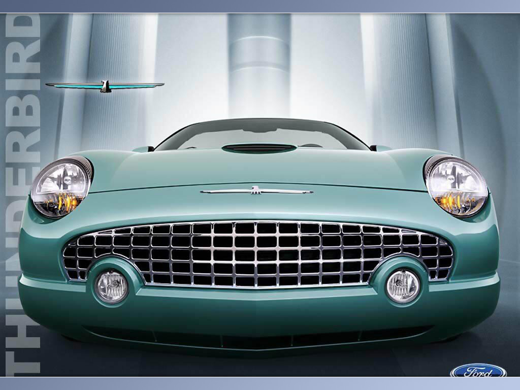 Vehicles Wallpaper: Ford - Thunderbird