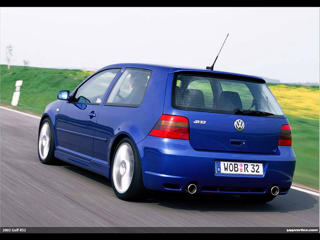 Vehicles Wallpaper: Golf R32