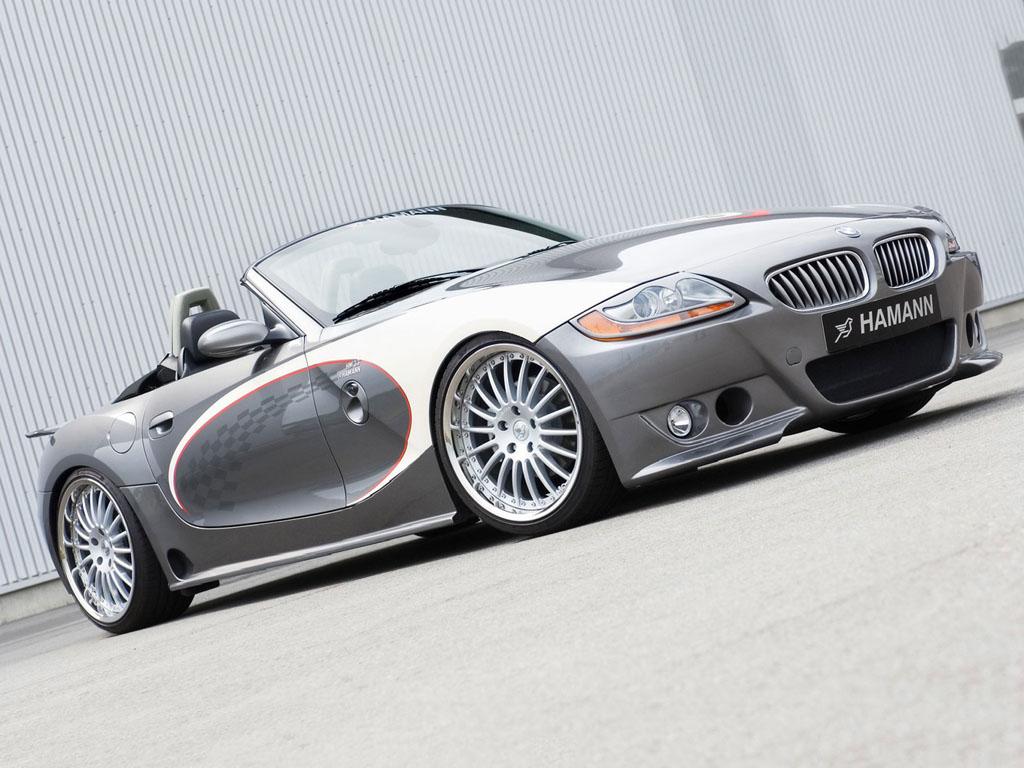 Vehicles Wallpaper: Hamann BMW Z4