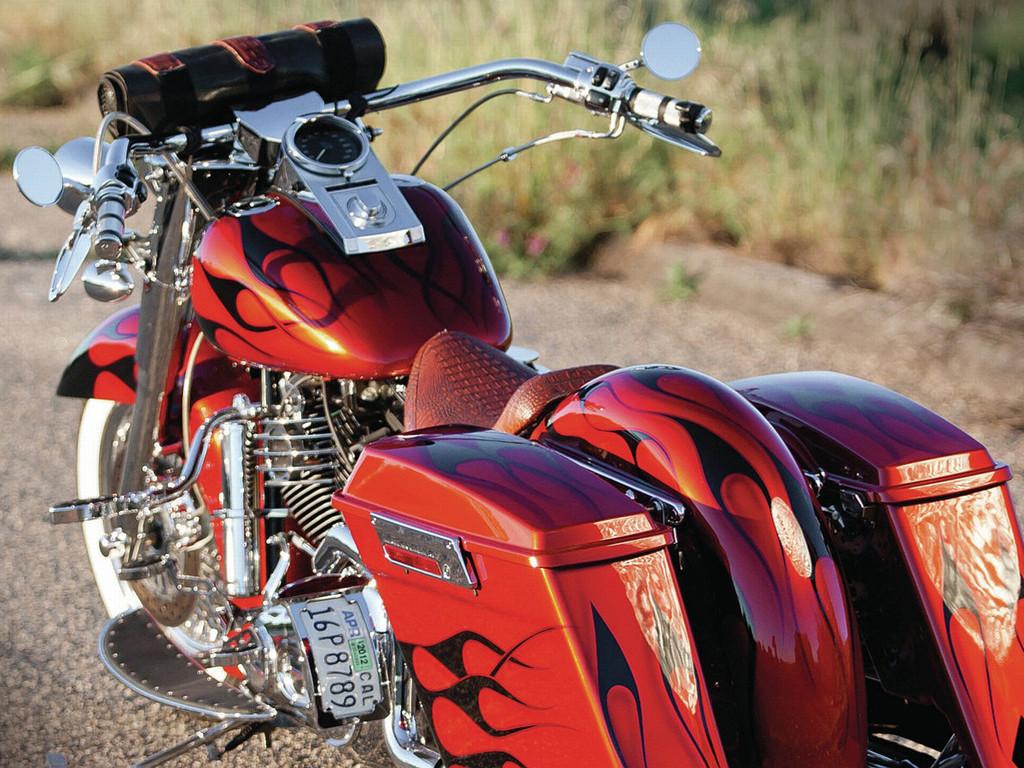 Vehicles Wallpaper: Harley Davidson