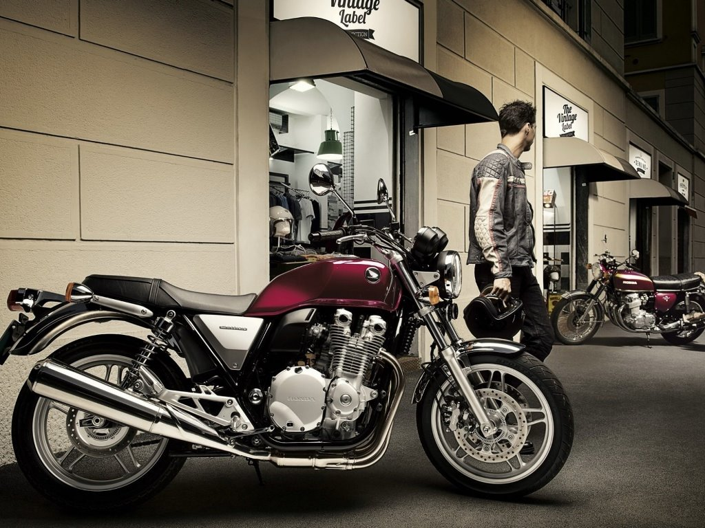 Vehicles Wallpaper: Honda CB
