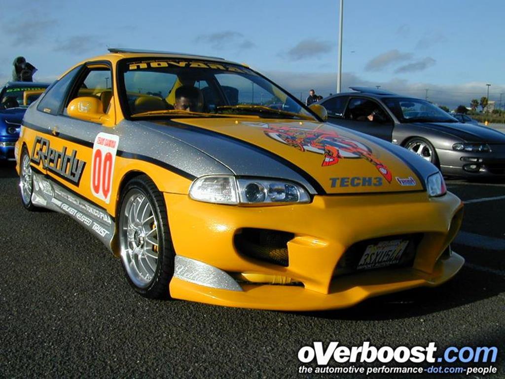 Vehicles Wallpaper: Honda Civic - Fast and Furious
