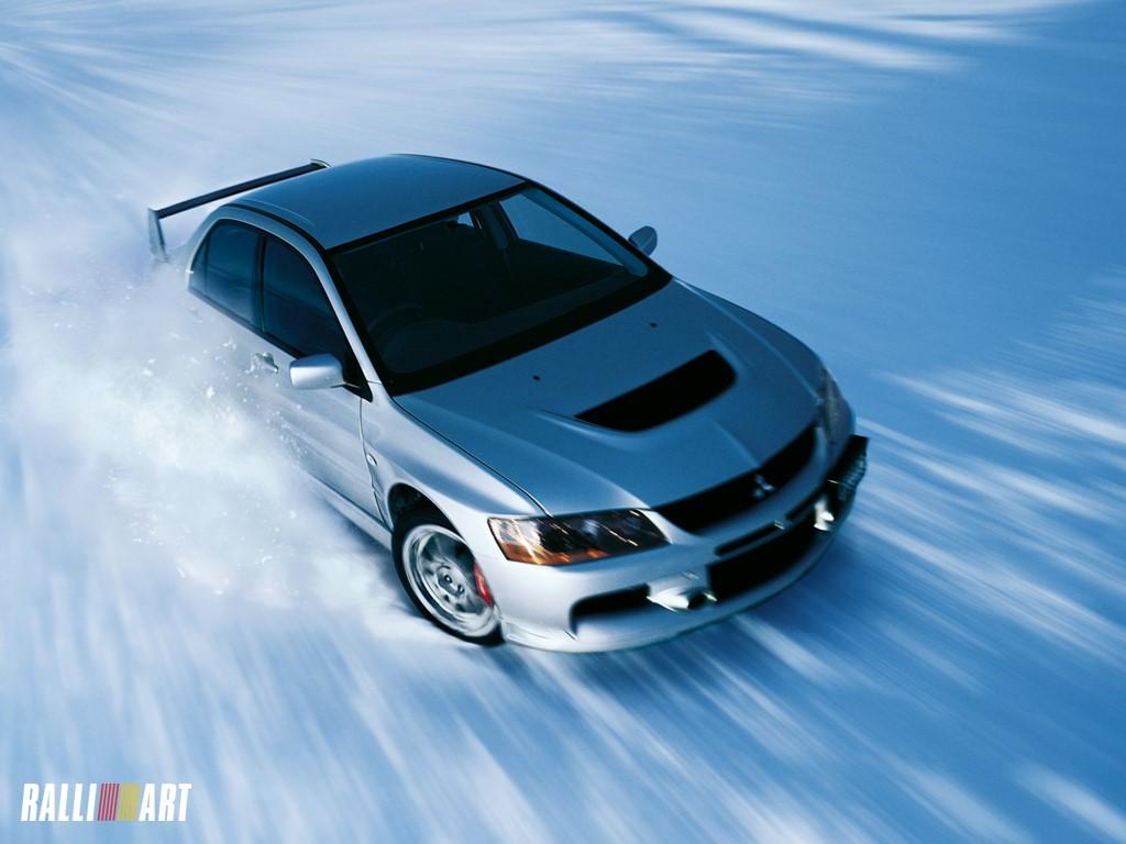 Vehicles Wallpaper: Ice Rally