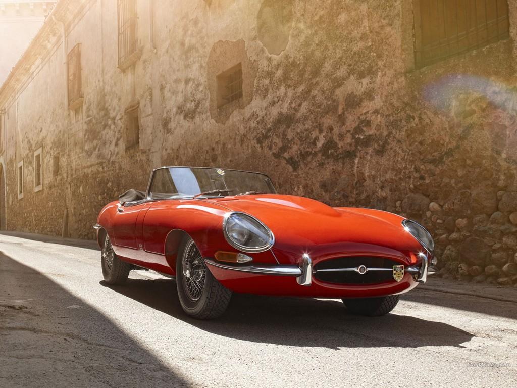 Vehicles Wallpaper: Jaguar E-Type