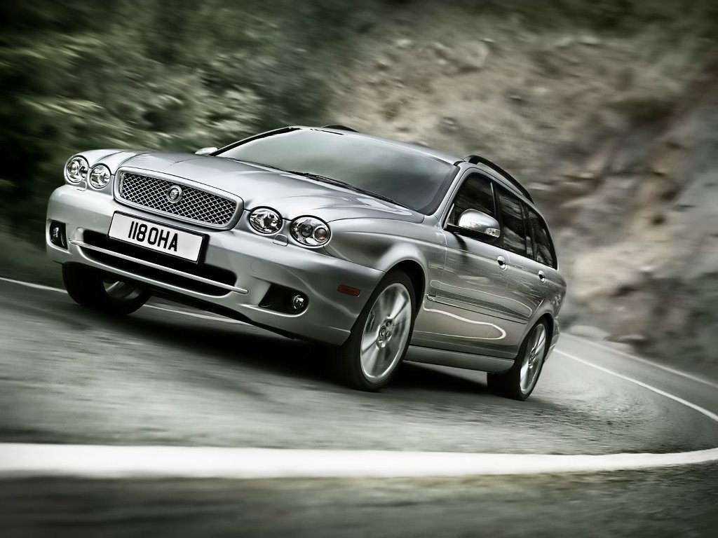 Vehicles Wallpaper: Jaguar X-Type