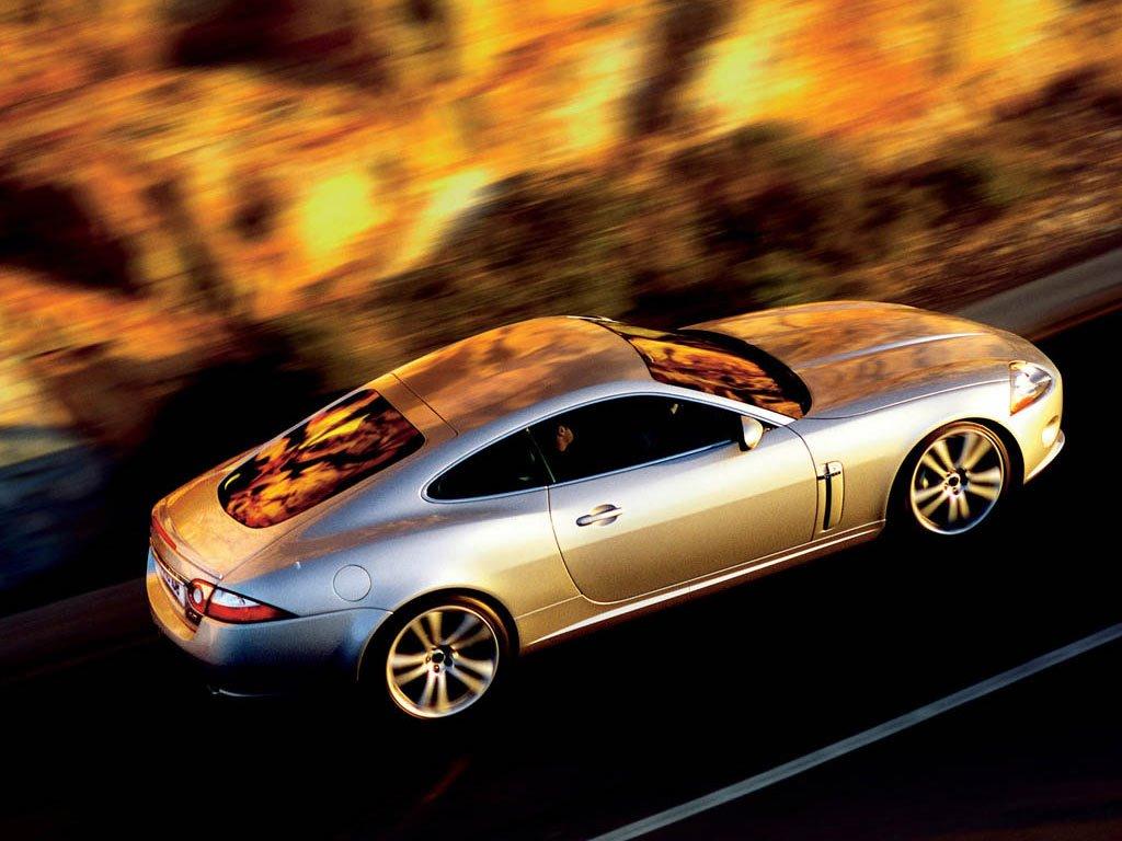 Vehicles Wallpaper: Jaguar XK
