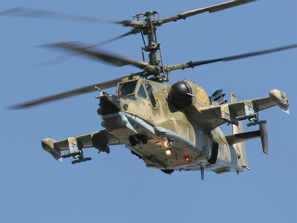 Vehicles Wallpaper: KA-50 Black Shark (Hokum)
