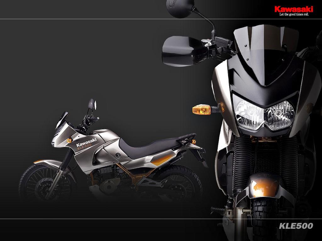 Vehicles Wallpaper: Kawasaki KLE500