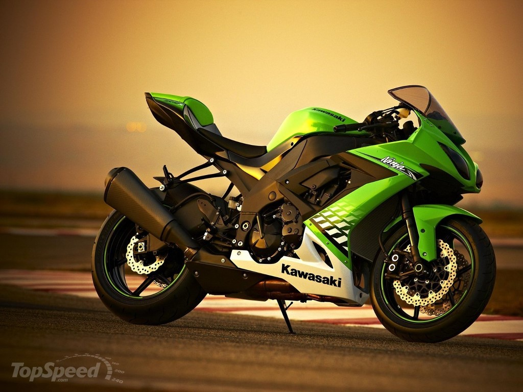Vehicles Wallpaper: Kawasaki Ninja