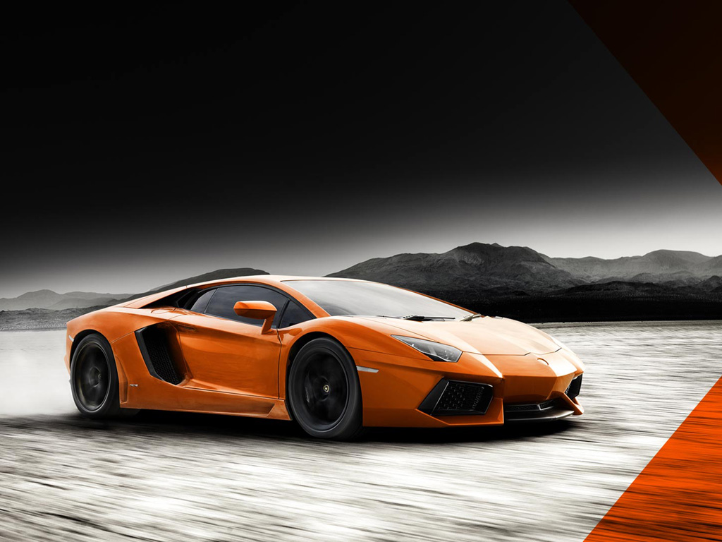 Vehicles Wallpaper: Lamborghini Aventador