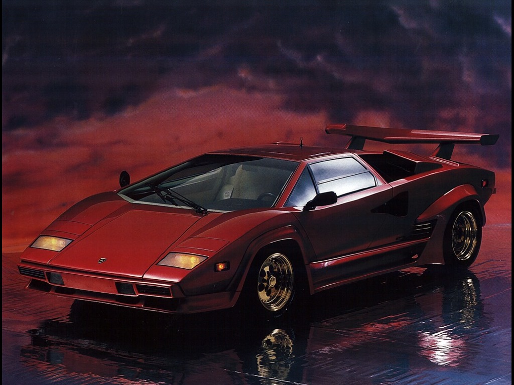 Vehicles Wallpaper: Lamborghini Countach