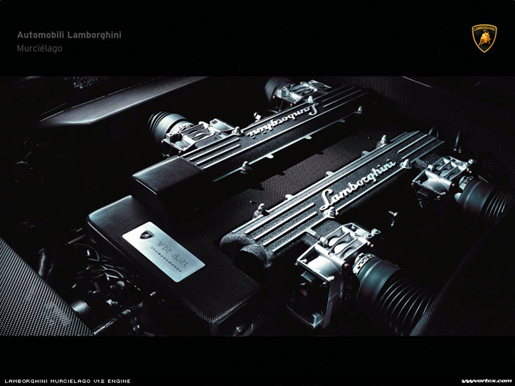 Vehicles Wallpaper: Lamborghini - Engine