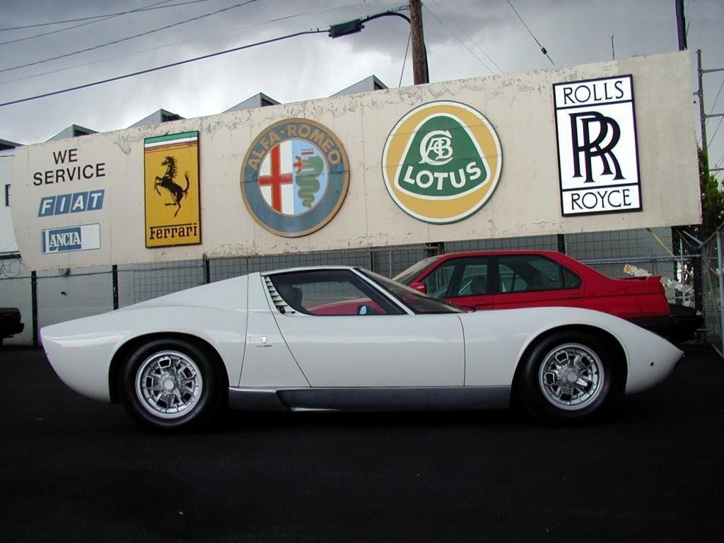 Vehicles Wallpaper: Lamborghini - Miura