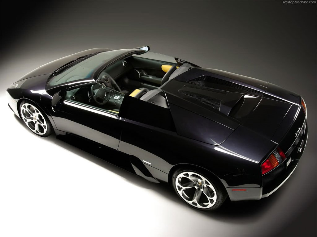 Vehicles Wallpaper: Lamborghini Murcielago Roadster