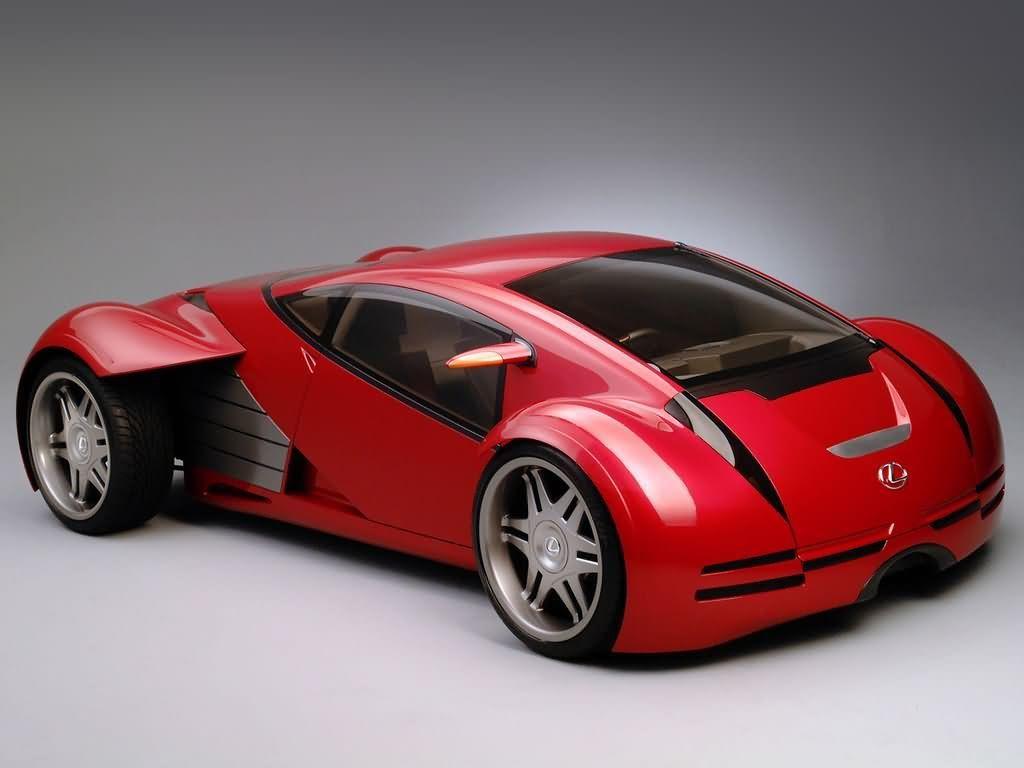 Vehicles Wallpaper: Lexus (Minority Report)