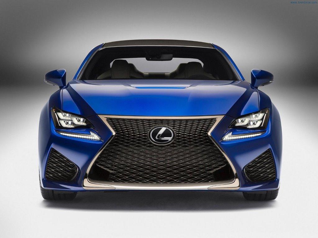 Vehicles Wallpaper: Lexus RC F Coupe