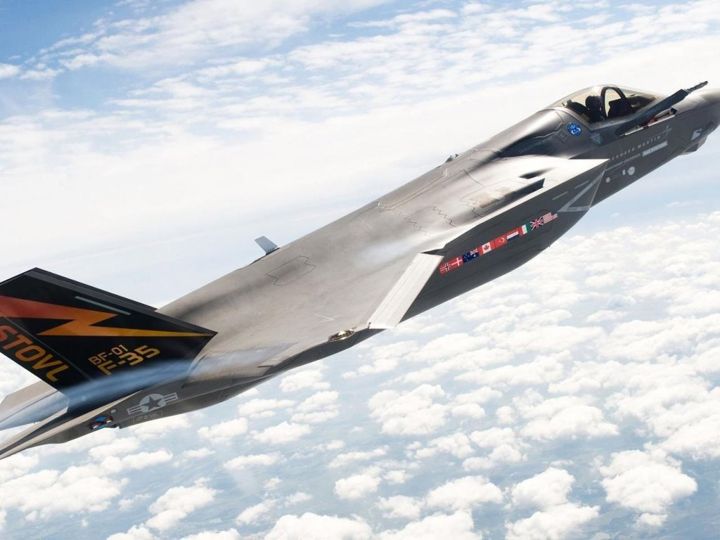 Vehicles Wallpaper: Lockheed Martin F-35