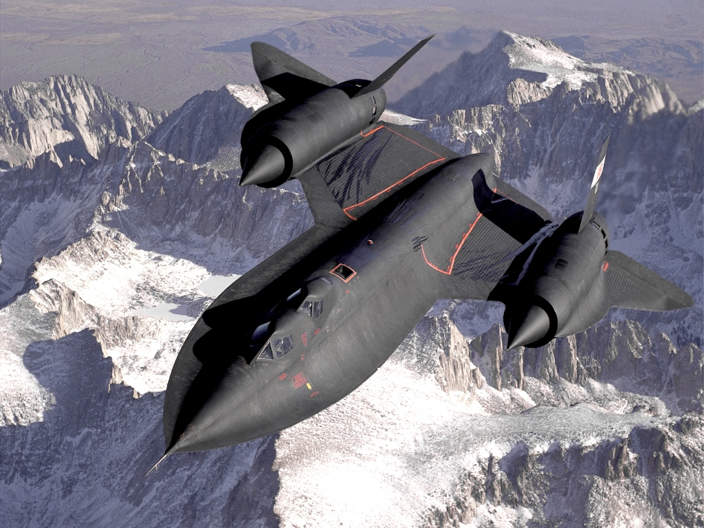 Vehicles Wallpaper: Lockheed SR-71 Blackbird