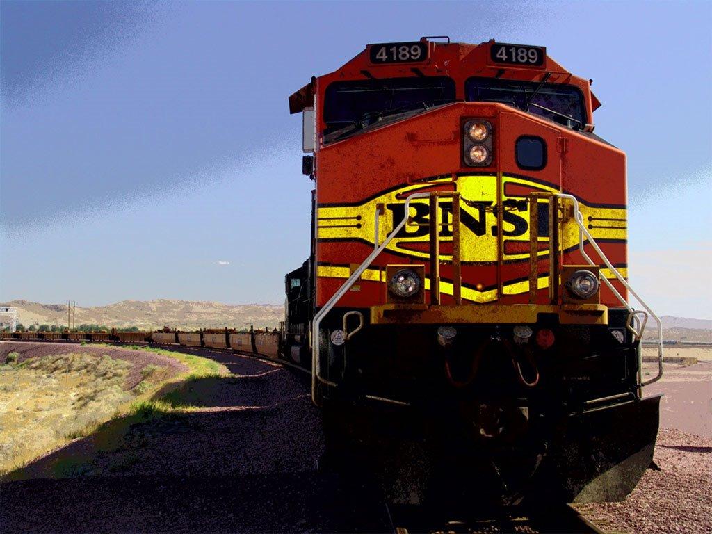 Vehicles Wallpaper: Locomotive