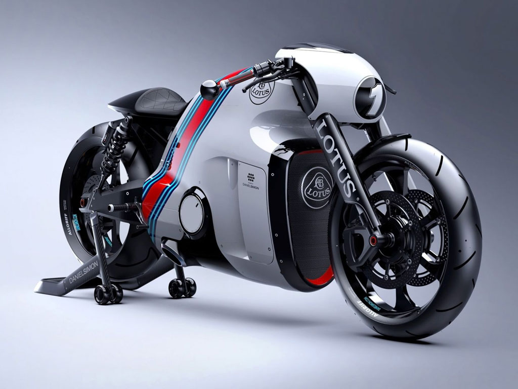 Vehicles Wallpaper: Lotus - Motorbike