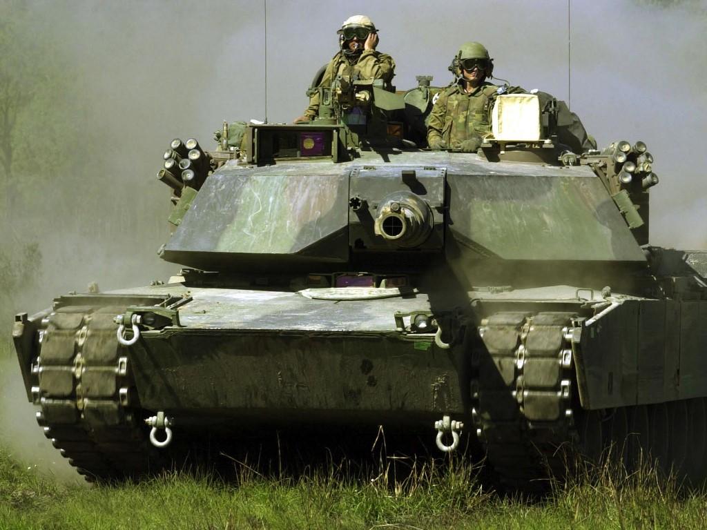 Vehicles Wallpaper: M1A1 Abrams