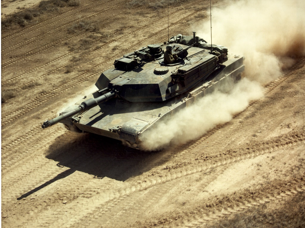 Vehicles Wallpaper: M1A1