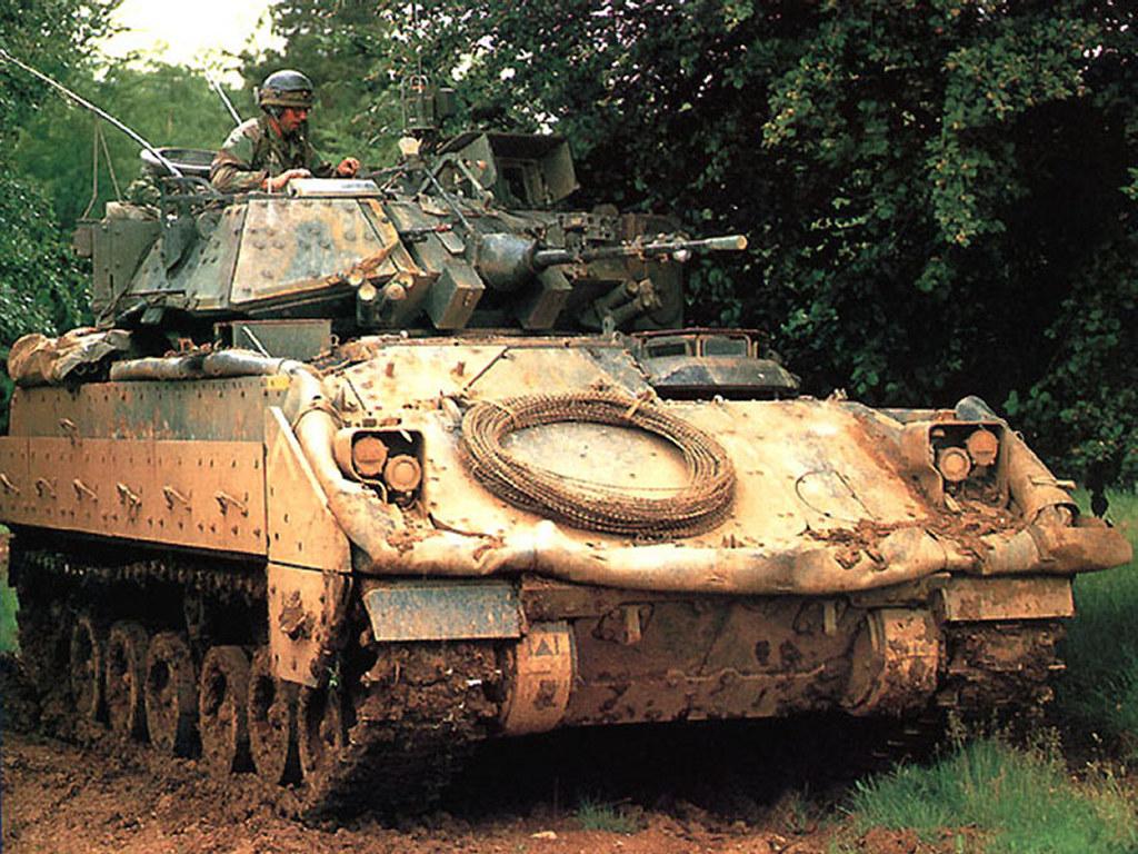 Vehicles Wallpaper: M2A2