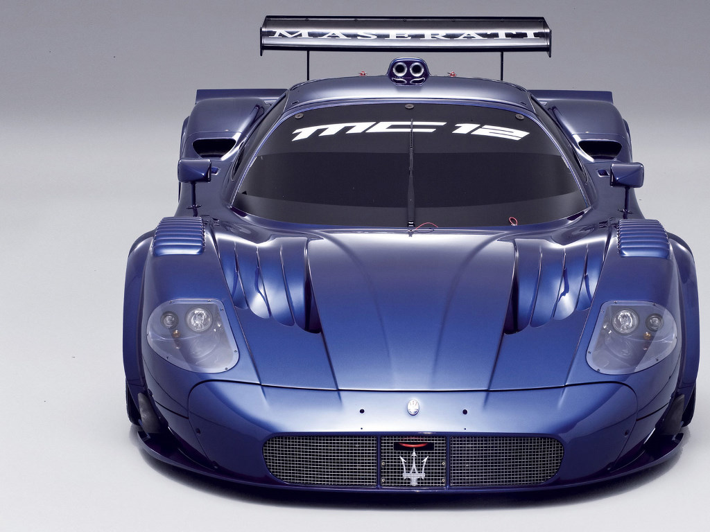 Vehicles Wallpaper: Maserati MC 12