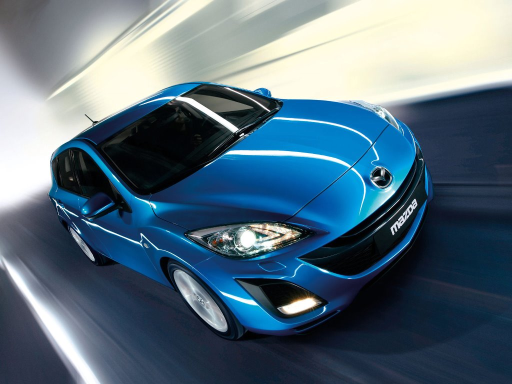 Vehicles Wallpaper: Mazda Hatchback 2010