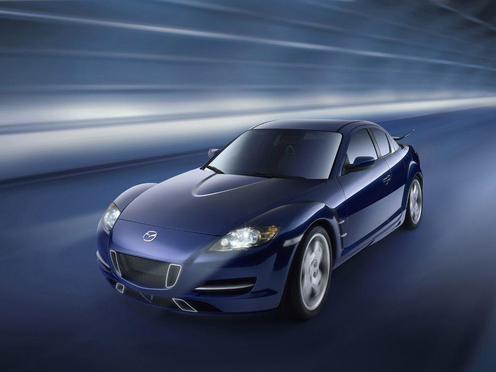 Vehicles Wallpaper: Mazda RX-8 (X-Men)