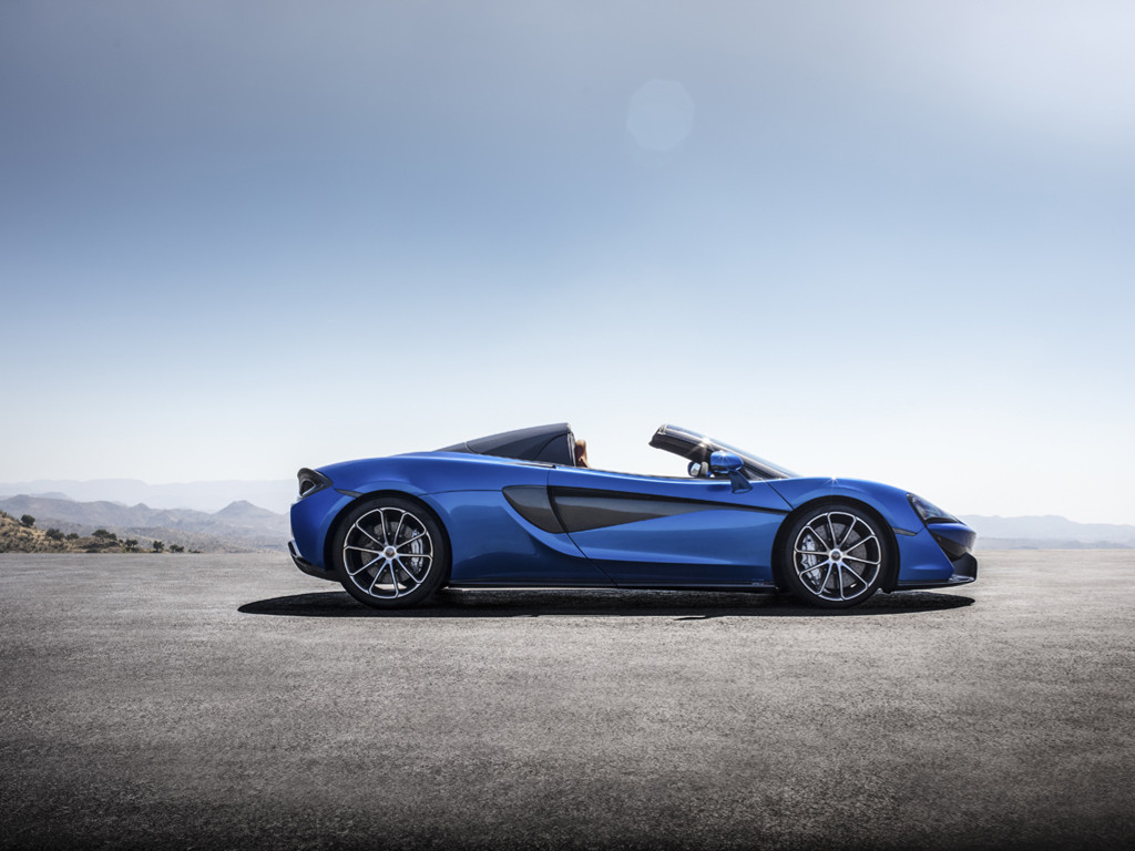 Vehicles Wallpaper: McLaren 570s Spider