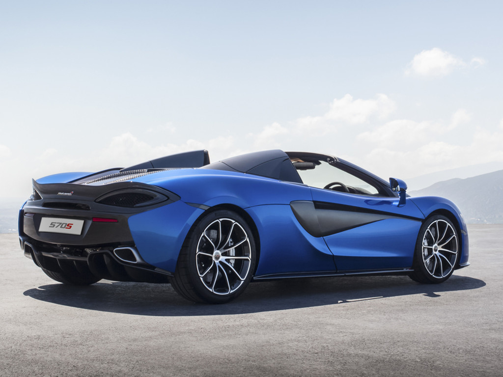 Vehicles Wallpaper: McLaren 570s Spider