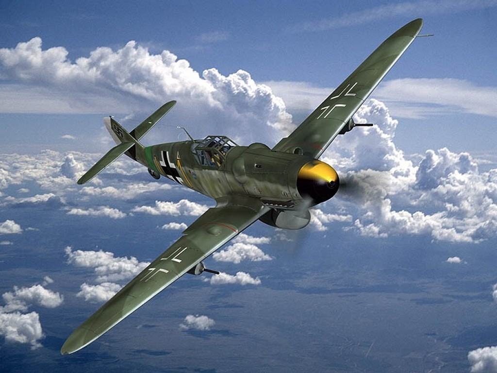 Vehicles Wallpaper: ME-109