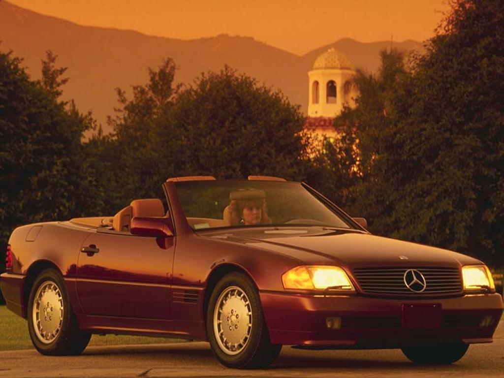 Vehicles Wallpaper: Mercedes 500sl