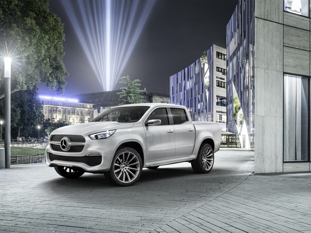 Vehicles Wallpaper: Mercedes Benz Concept X-Class