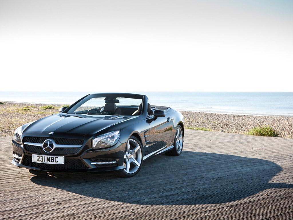 Vehicles Wallpaper: Mercedes Benz SL-500