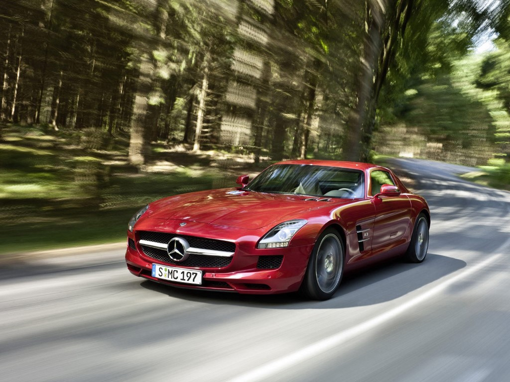 Vehicles Wallpaper: Mercedes