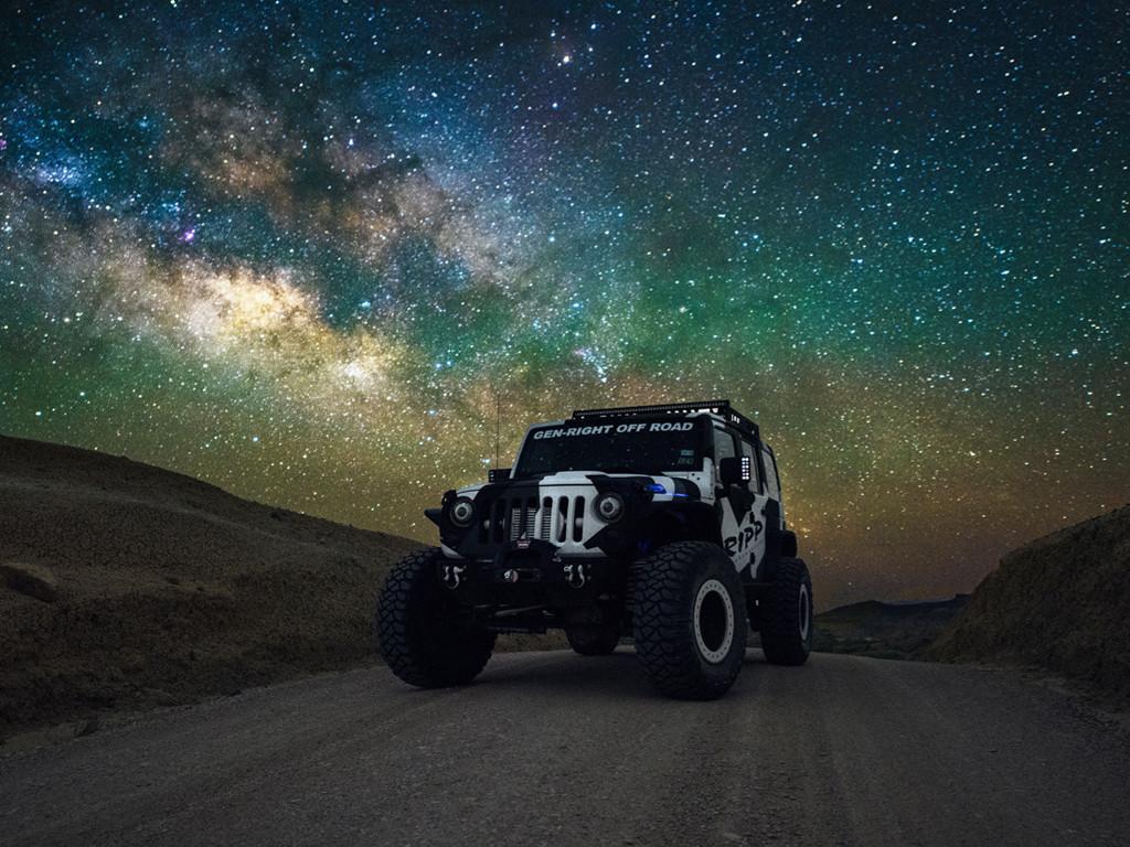 Vehicles Wallpaper: Milky Way