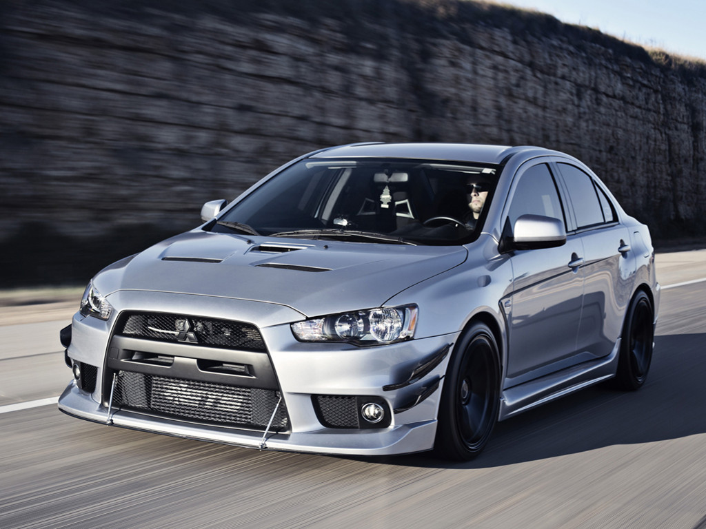 Vehicles Wallpaper: Mitsubishi Lancer Evolution