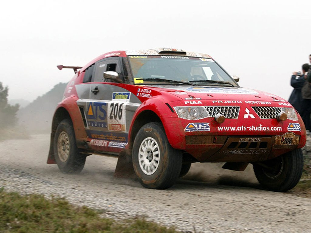 Vehicles Wallpaper: Pajero - Rally