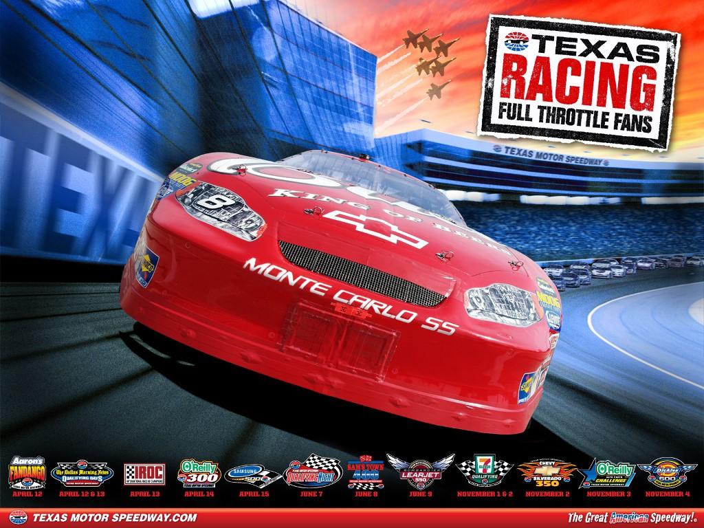 Vehicles Wallpaper: NASCAR - Texas Racing