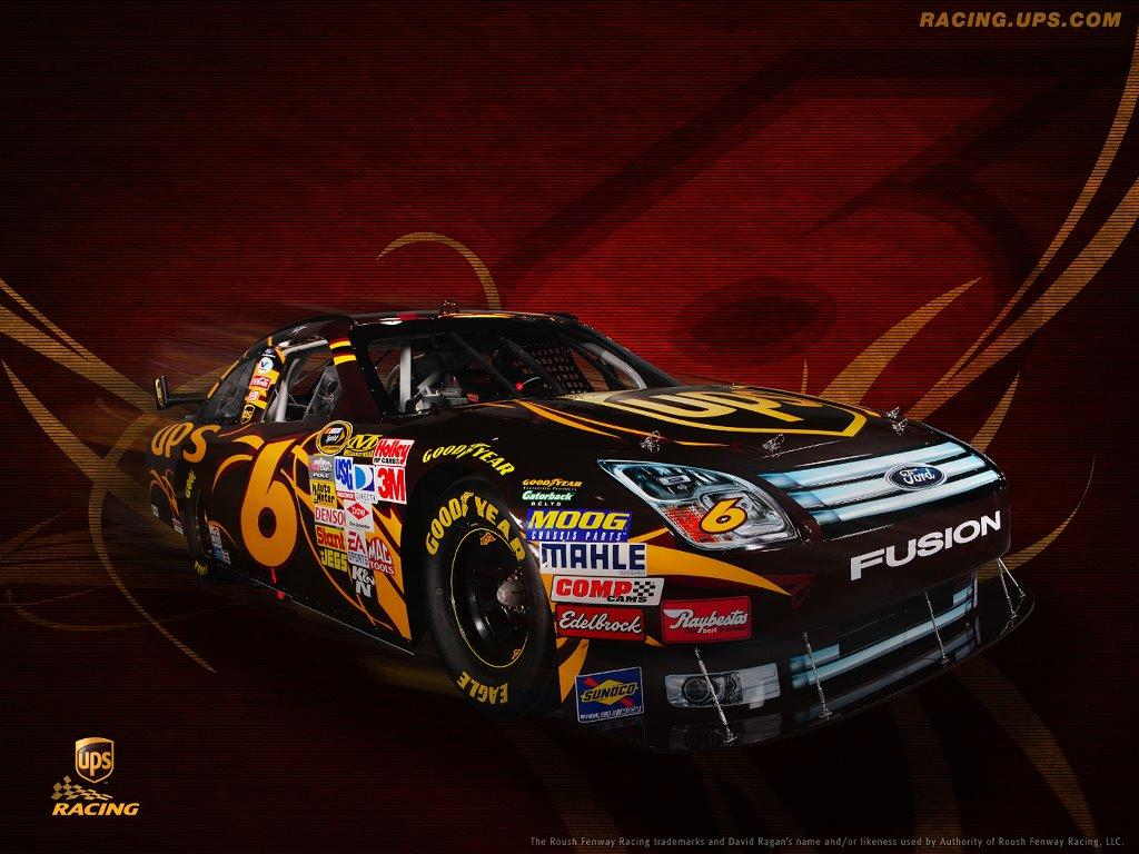 Vehicles Wallpaper: NASCAR - UPS