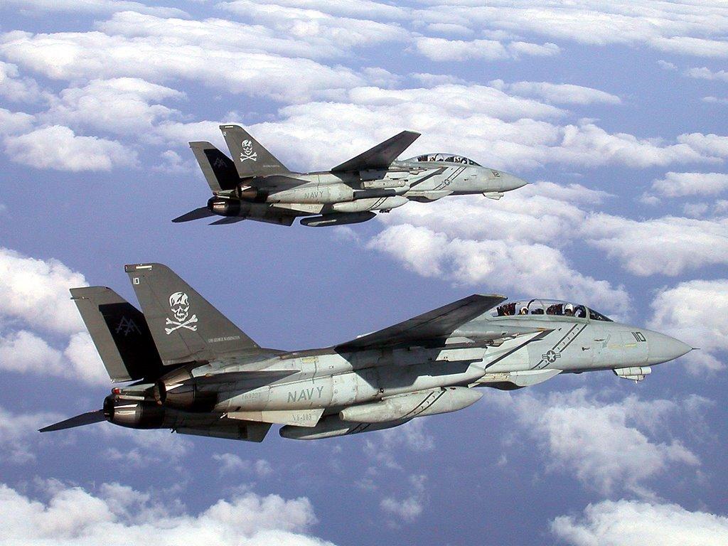 Vehicles Wallpaper: F-14 Tomcats