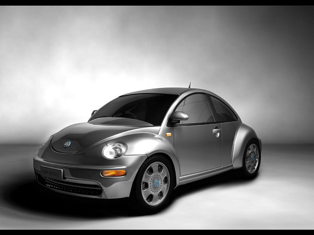 Vehicles Wallpaper: New Beetle